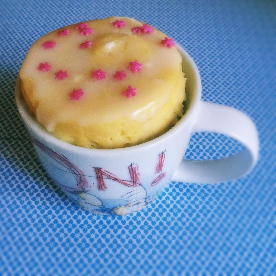 cup cake al limone